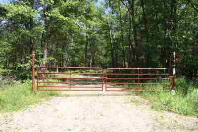Oconto County Residential Lots & Land Active-No Offer: Bell Bridge