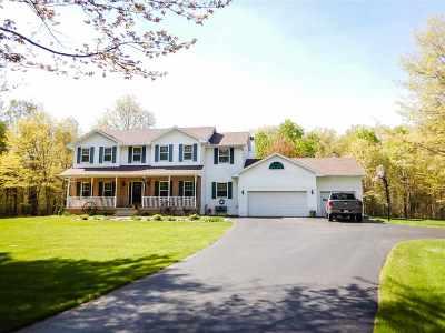 Marinette Single Family Home For Sale: W794 Heath