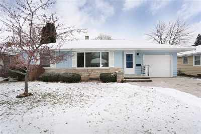 Appleton Single Family Home For Sale: 1218 W Brewster