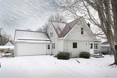 Single Family Home For Sale: W7887 Mason