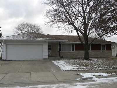 Oshkosh Single Family Home For Sale: 614 Dakota