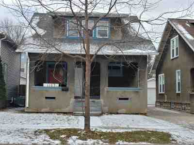 Appleton Single Family Home For Sale: 1107 N Durkee