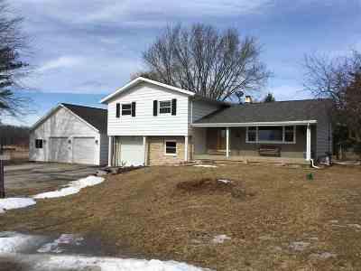 Single Family Home For Sale: N6732 Karst