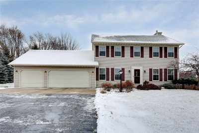 Appleton Single Family Home For Sale: N9634 Darboy