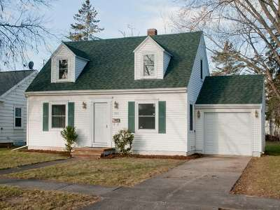 Single Family Home For Sale: 1016 Nicolet
