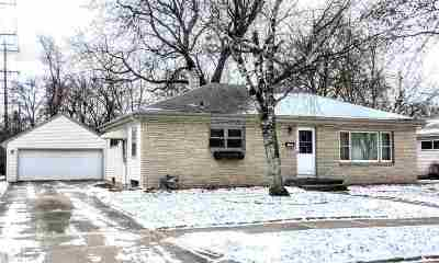 Appleton Single Family Home For Sale: 1307 E Marquette