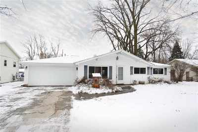 Neenah Single Family Home For Sale: 2561 Hwy Jj