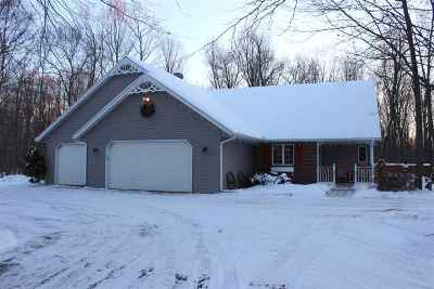 Oconto Falls Single Family Home For Sale: 8617 Hwy Cc