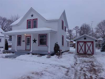 Shawano Single Family Home For Sale: 1018 S Franklin