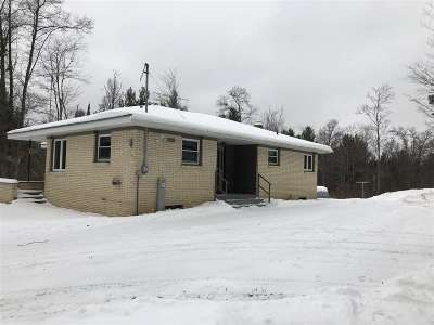 Pembine Single Family Home Active-No Offer: W7428 Hwy Z