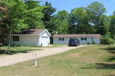 Single Family Home For Sale: N1110 Hwy E