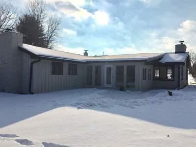 Shawano Single Family Home For Sale: W7192 Campfire
