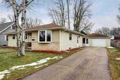 Appleton Single Family Home For Sale: 1201 W Taylor