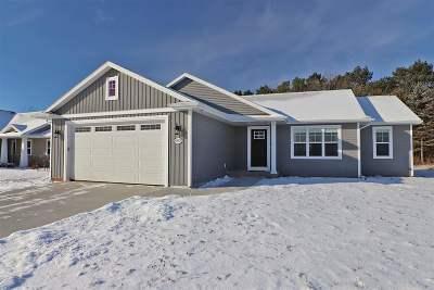 Menasha Single Family Home For Sale: N9071 Lilac