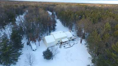Shawano Single Family Home For Sale: N6934 Woods
