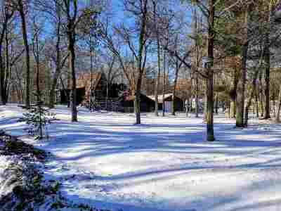 Shawano Single Family Home For Sale: N6785 Hwy Hh