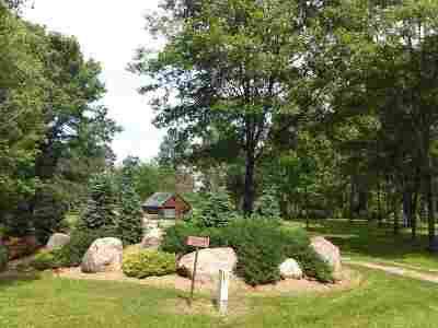 Marinette County Residential Lots & Land Active-No Offer: W13444 Balsam Lake