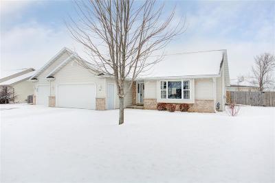 Kaukauna Single Family Home For Sale: 214 Sunny Meadows