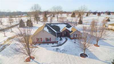 Kaukauna Single Family Home For Sale: N4271 Murphy