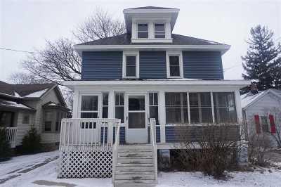 Oshkosh Multi Family Home Active-No Offer: 722 Bowen