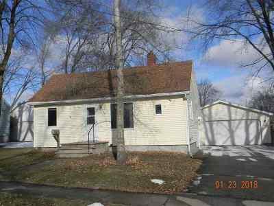 Kaukauna Single Family Home For Sale: 124 Grant