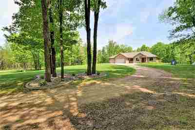 Cecil Single Family Home For Sale: N5568 Valley