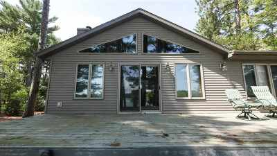 Waupaca Single Family Home Active-No Offer: E1073 Whispering Pines
