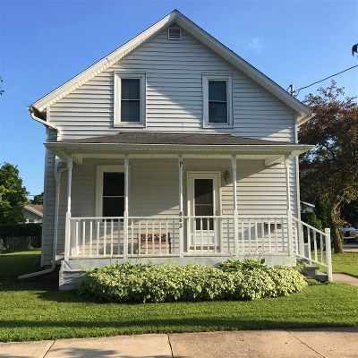 Menasha Single Family Home Active-No Offer: 863 2nd