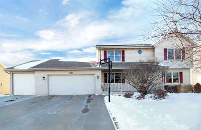 Menasha Single Family Home Active-Offer No Bump: 1242 Southfield
