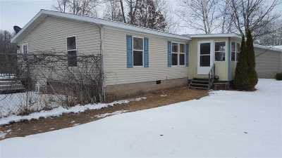 Oconto Falls WI Single Family Home For Sale: $79,900