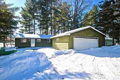 Athelstane Single Family Home Active-Offer No Bump: W10515 Tanonka