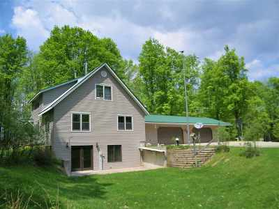 Shawano County Single Family Home Active-No Offer: W13343 Old 29 Road