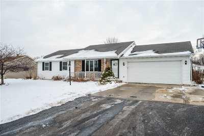 Appleton Single Family Home For Sale: W3295 Heartland