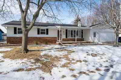 Appleton Single Family Home For Sale: 3001 S East