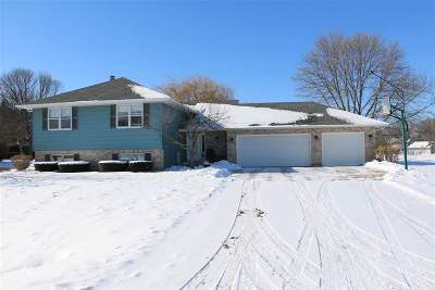Appleton Single Family Home For Sale: W2821 Crestwood