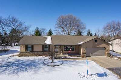 Appleton Single Family Home For Sale: N229 Randys