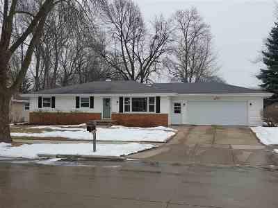 Appleton Single Family Home For Sale: 622 S Clara