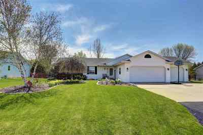 Appleton Single Family Home For Sale: W5553 Amy