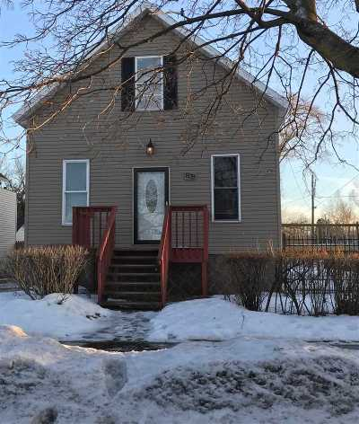 Marinette Single Family Home For Sale: 839 Cleveland