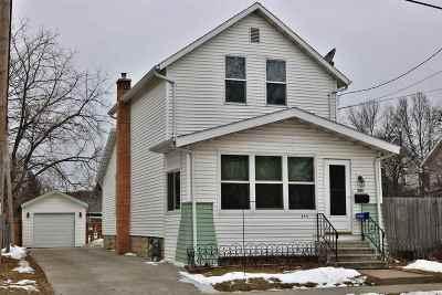Oshkosh Single Family Home For Sale: 345 Bay