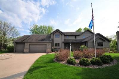 Appleton Single Family Home For Sale: W2881 Oakridge