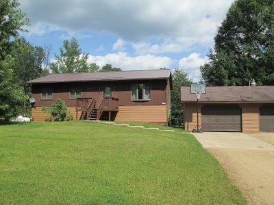 Shawano Single Family Home For Sale: N7020 Wescott