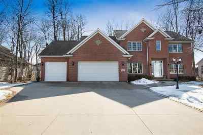 Appleton Single Family Home For Sale: W5955 Blazing Star