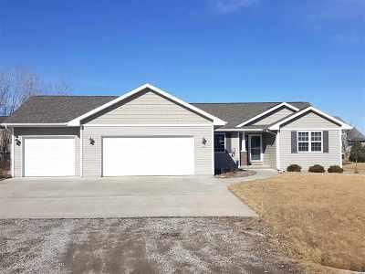 Oshkosh Single Family Home Active-Offer No Bump: 3886 Braeburn
