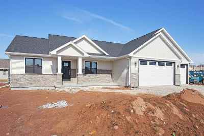 Menasha Single Family Home Active-Offer No Bump: W6064 Zach