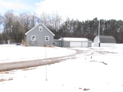 Marinette Single Family Home For Sale: N5497 Hwy 180