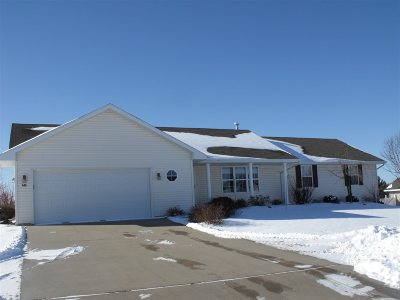 Oconto Falls WI Single Family Home For Sale: $169,900