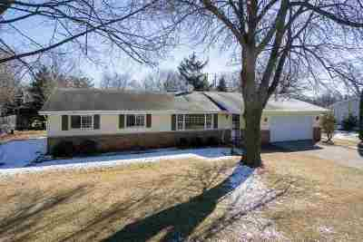 Neenah Single Family Home Active-Offer No Bump: 779 Harvard