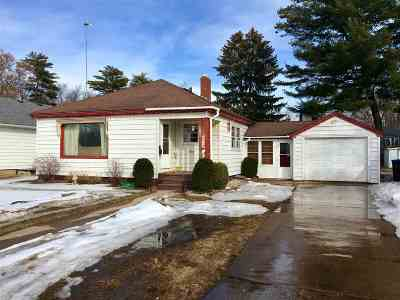 Shawano Single Family Home For Sale: 1008 S Lutz