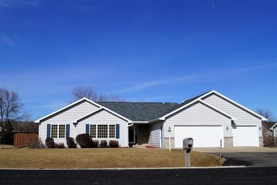 Appleton Single Family Home For Sale: W6042 Paige